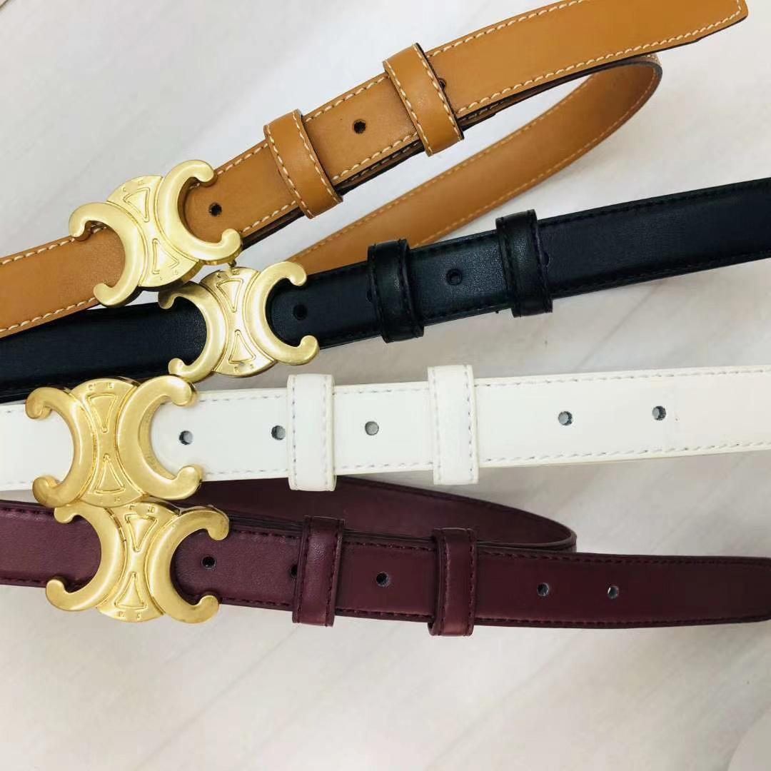 Cinturones de diseño para correas de diseño de la correa de cuero del negocio SnakeBelt Cinturones Mujeres Grandes Gold38 # 246