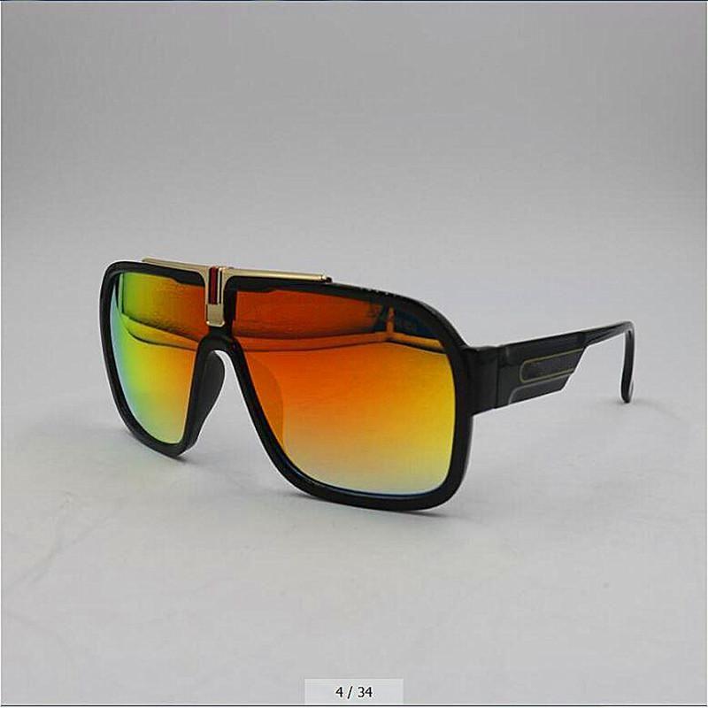 النظارات الشمسية مصمم الرجال والنساء مماثلة في الهواء الطلق نظارات الترفيه رجل المستقطب الملونة تغيير مرآة