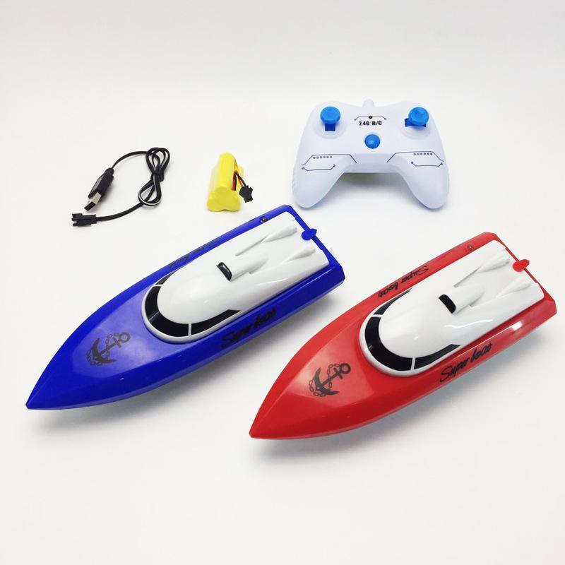 Juguetes para niños Mini Radio RC Rac Racing Beat Speed Speed Toys For Niños Regalo Juguete Simulación Control Remoto Modelo de Barco Diseño