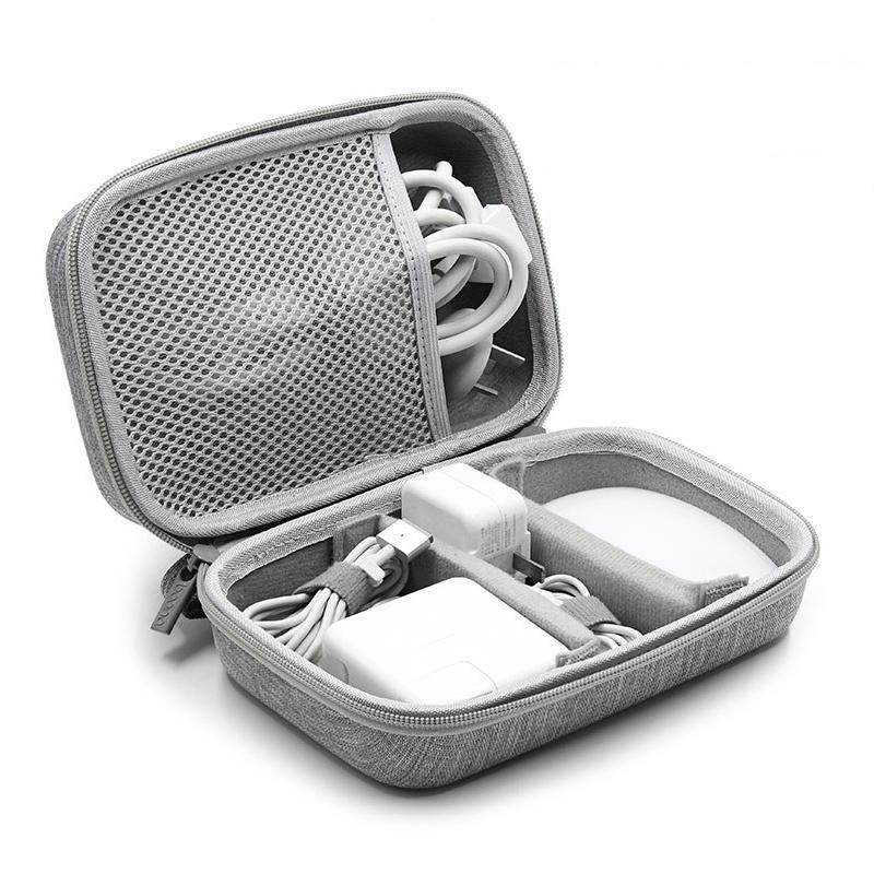 Tuuth Eva Travel Bag Cable Cable Electronics Organizer Gadget Bag Organizer حقيبة ل Macbook Air / Pro، USB، شاحن، سماعات Y200714