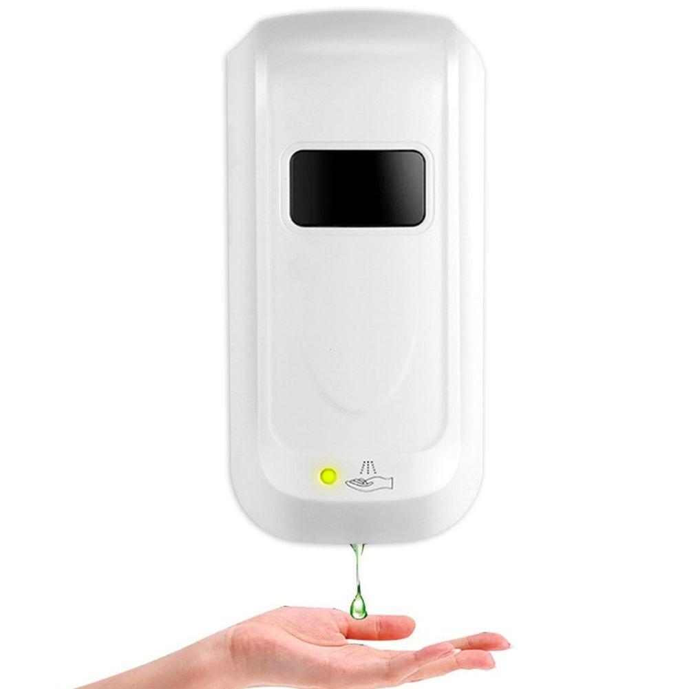 Parede Montado Infravermelho Inteligente Inteligente Automático Sabonet Soap Dispenser Shampoo Loção Chuveiro Gel Frascos de Espuma 1000ml C0123