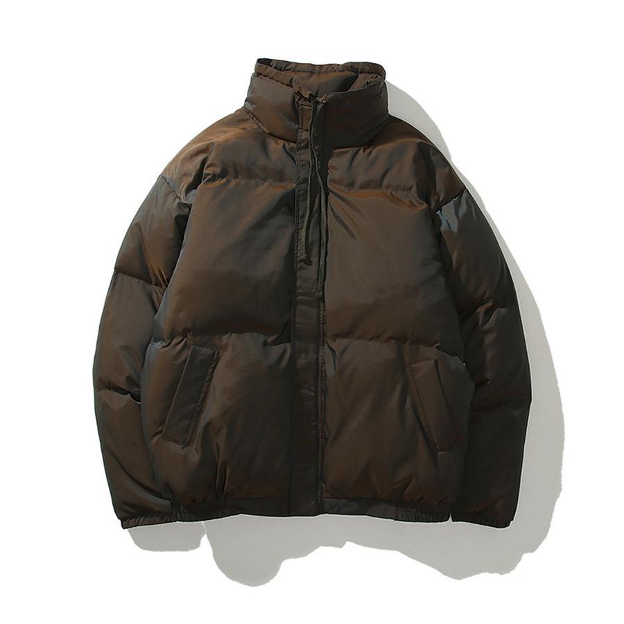 Üst qli kış aşağı ceket yelek açık sıcak kürk sıcak rüzgar geçirmez açık fasion kış sonbahar erkek ve kadın yelek stand-up yaka # 676111100000