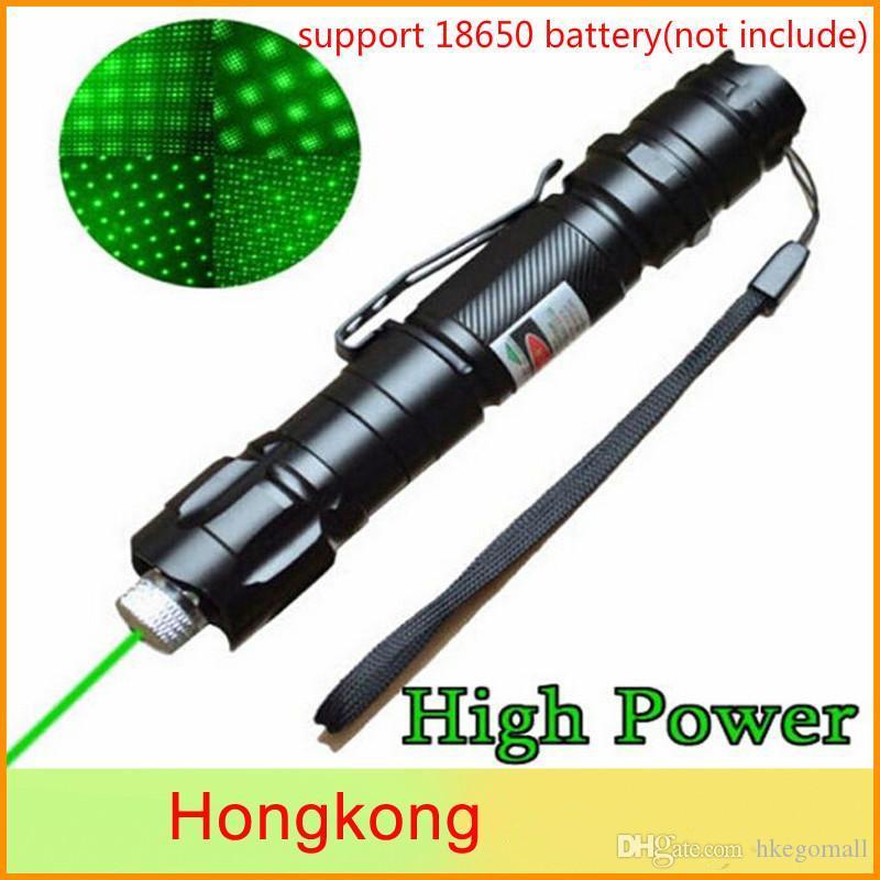 Marka New'in 1mw 532nm 8000M Yüksek Güç Yeşil Lazer Pointer Işık Kalem Lazer Işın Askeri Yeşil Lazerler