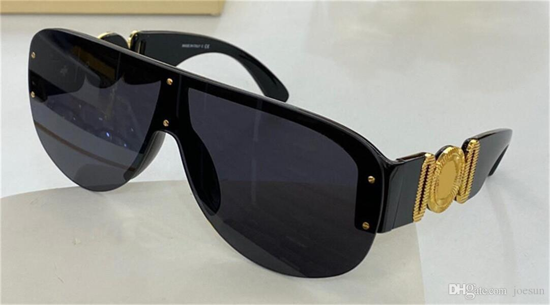 Nuovi uomini di moda Occhiali da sole pilota 4391 Frameless One Piece Lens Design Popolare stile di moda UV400 Occhiali protettivi UV400 Top Quality