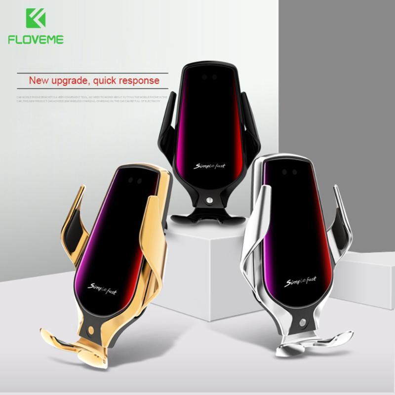 Supporto per caricabatterie per auto senza fili di serraggio automatico FloveMe Sensortatore intelligente Sensor per 11 mi