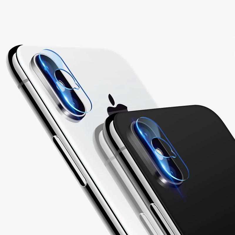 Vidro protetor de câmera para iPhone 12 11 Pro Max Back Camera Filme para iPhone XR XS Max Telefone Celular Lens Adesivo