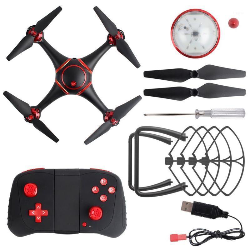 بدون طيار RC بدون طيار S7 LED للرؤية الليلية مع كاميرا 720P wifi quadcopter 360 المتداول وضع عيد ميلاد لعب للأطفال 1