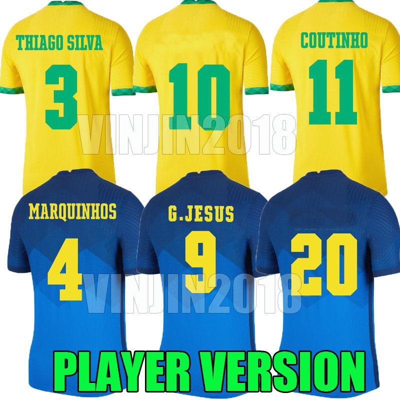لاعب النسخة 20 21 ريتشاريليسون g.jesus لكرة القدم كاميسيتا دي فيوتول كوبا AMERİCA 2020 2021 Coutinho 20 21 Brasil Football Compot