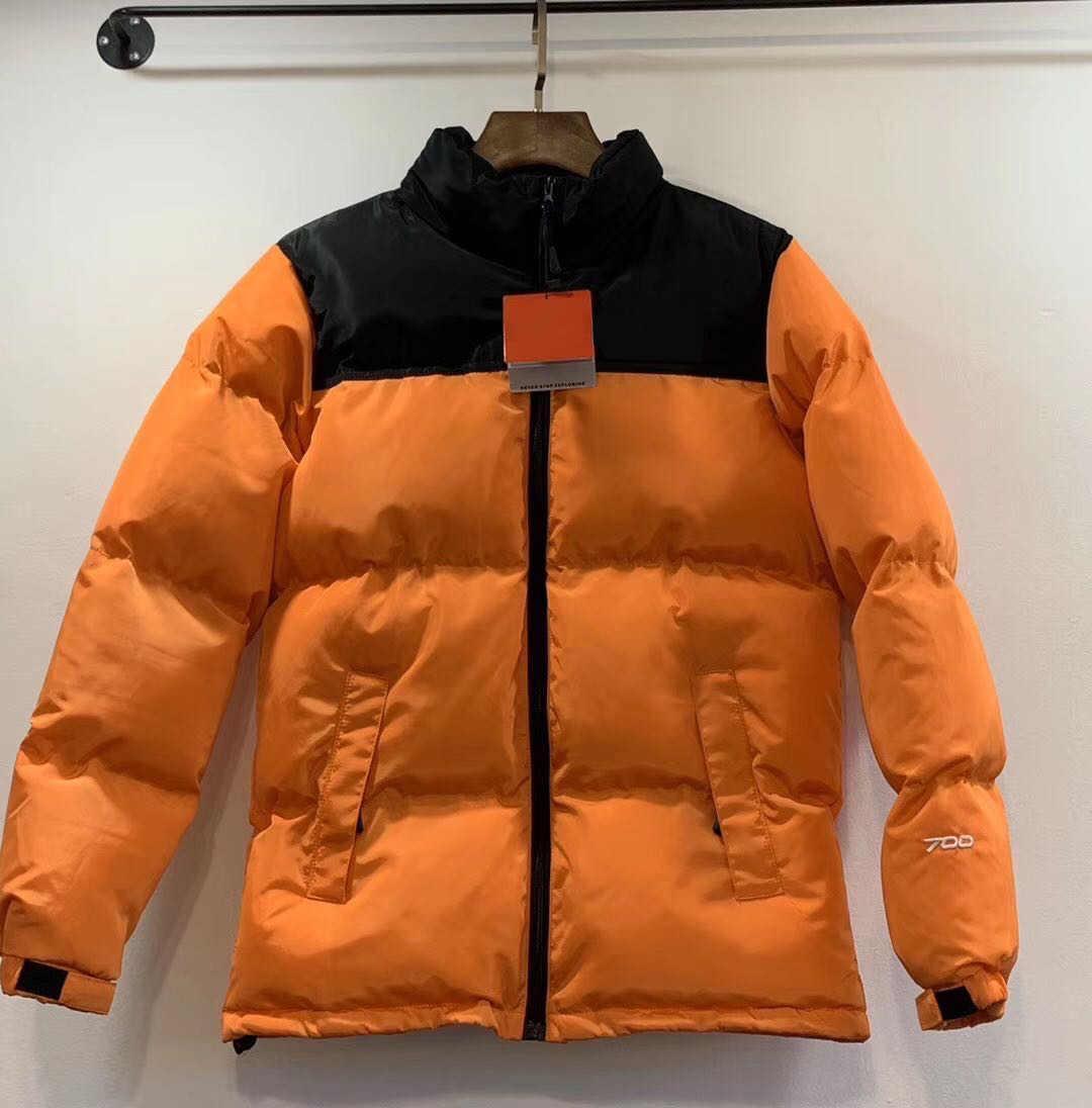 Abajo chaqueta para hombre Parkas Patrón Calle prined viste abrigos con cierre de cremallera Cartas Moda estilo unisex Parkas Chaquetas