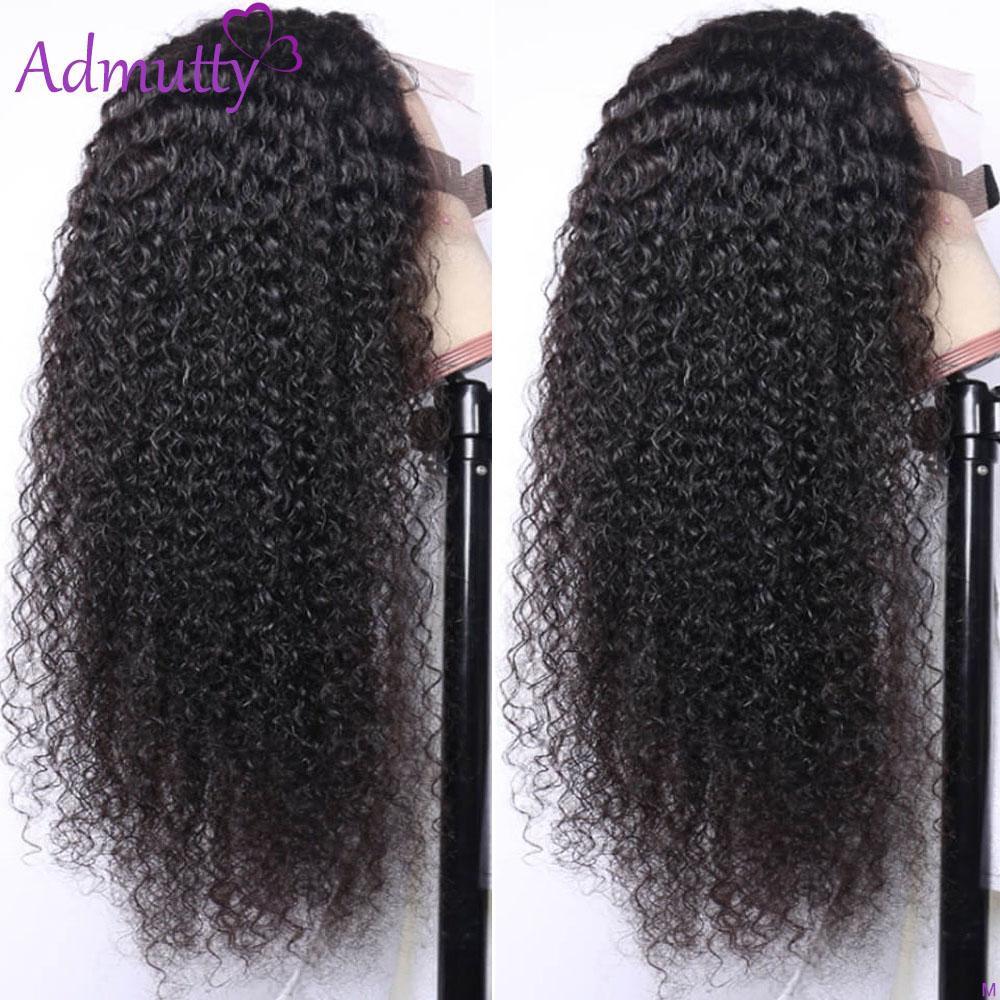 Pelucas de cabello humano frontal de encaje rizado para mujeres negras HD Peluca de encaje transparente de 180 Densidad Peluca delantera Remy Hair 13x6