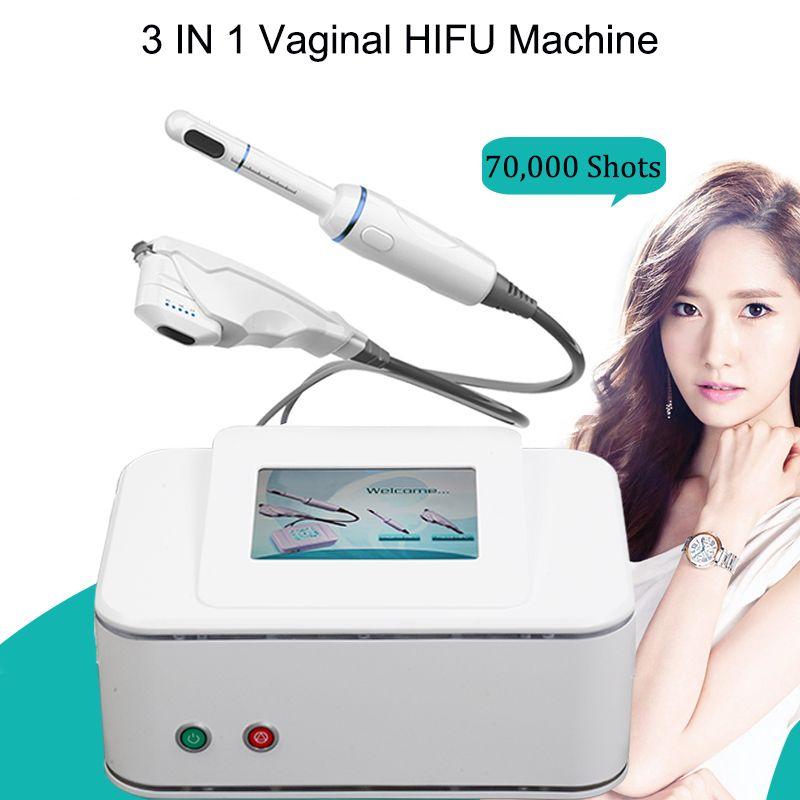 Hifu Машина для лица Лифтинг Ультразвуковая машина HIFU вагинальный HIFU для лица и шеи влагалища Омоложение устройства