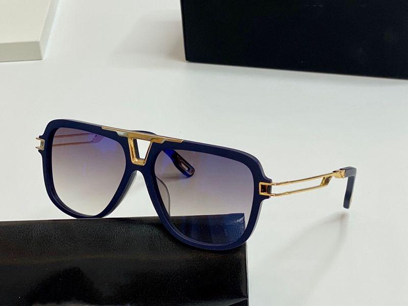 El MC I Gold Men Eyewear Diseñador de coches Gafas Cuadrado Titanio Marco superior Cantidad Al aire libre UV400 Gafas de sol El Observador 2 Calidad superior