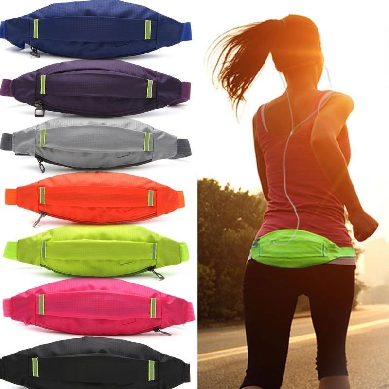 Sport unisex in corsa ciclismo jogging auricolare auricolare auricolare cintura borsa sacchetto tasca tasca