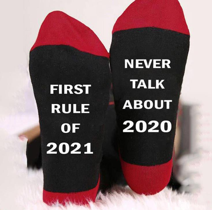 Mens Novelty Socks Fashion Casual Medium Socks 2021 New Men Designer Brearhable Socks Letter Print Sports