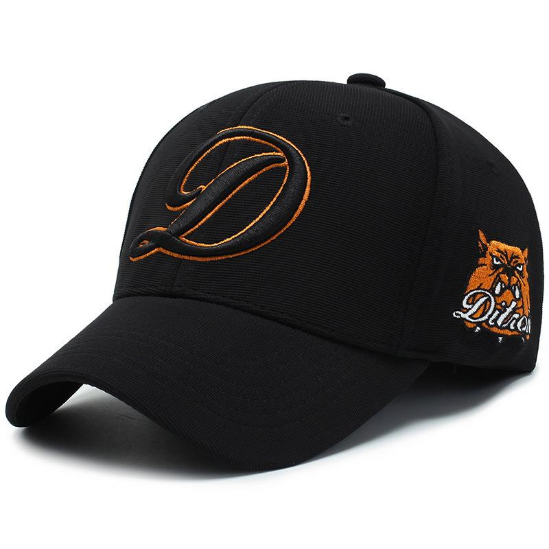 Letter One Fashion Duck Three Dimensional Embroidery Baseball Cap Summer Women's Riding Sun Hat