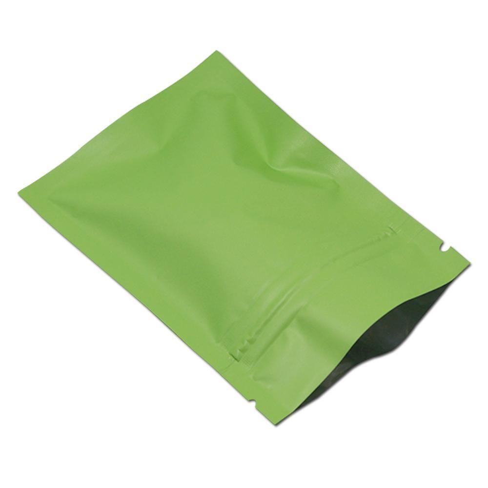 7x10cm 2.75x 3.93 200pcs Lot 8 Colors Zip Lock Aluminum Foil Package Bag Mylar Self Seal Zipper Food Gifts Storage Pack Bag H bbyzsz