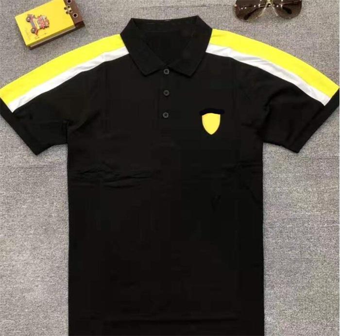 F1 Fans Racing Poloshirt Auto Logo Overalls Saisonteam Joint Kurzärzte Schnelltrocknende Tops Customized