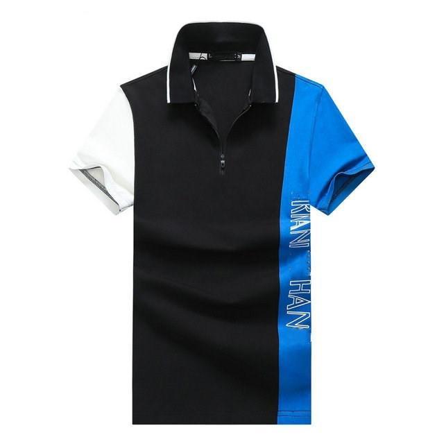 Été 2020 Mode Hommes Deluxe T-shirt décontracté à manches courtes Polo Chemise Mode Mode Polo Designer T-shirt PP35