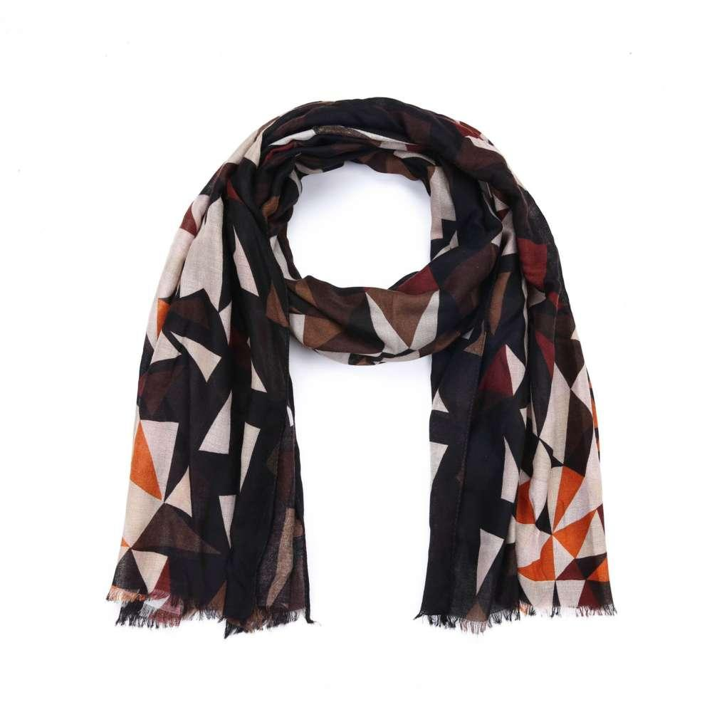 Новый осенью и зимний алмазный цвет подходящие имитационные льняные длинные женские шарф