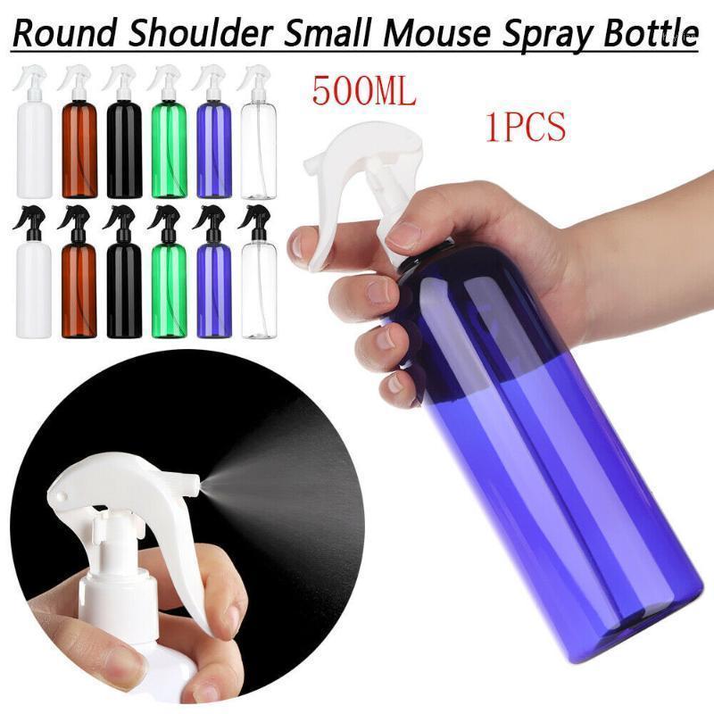500ml multifunzione in plastica bottiglia spray bottiglia di trigger spruzzatore olio essenziale contenitore portatile riutilizzabile bottiglia rifinibile1