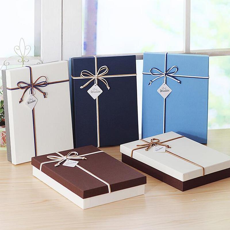 Carteira papel cor caixa de presente cor alternar dupla com gravata borboleta camisa ano festa casamento sólido novo chapéu atacado caixa de presente simples uwfed
