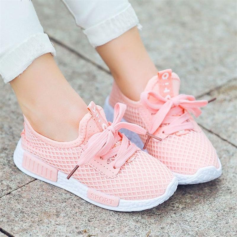 Daclay детская обувь сетки дышащие спортивные кроссовки кроссовки кроссовки для мальчиков и девочек T200421