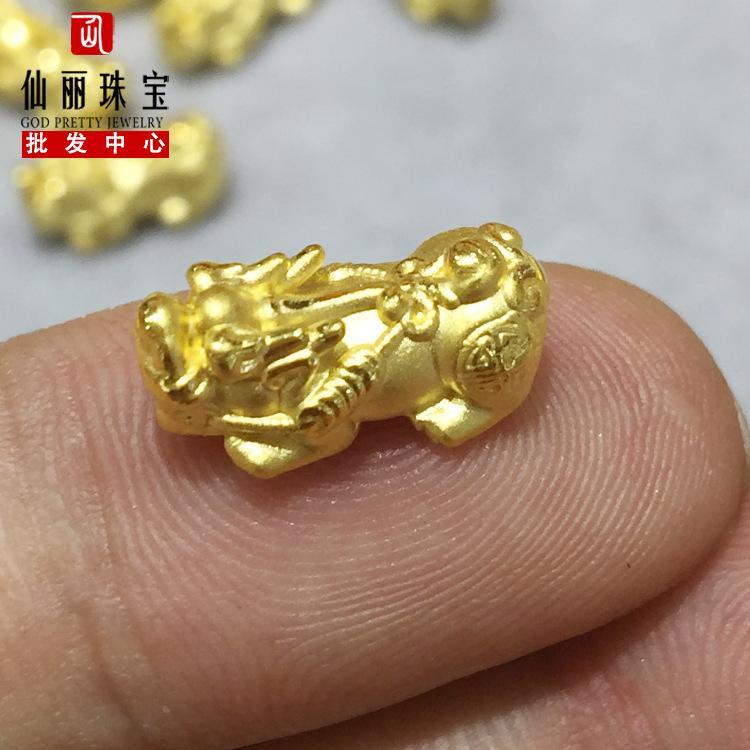 Venta directa de fábrica de oro duro suficiente oro 999 Combinación de Lucky Lucky Pequeño aleatoria cuerda roja pulsera de agua de Shell joyería al por mayor