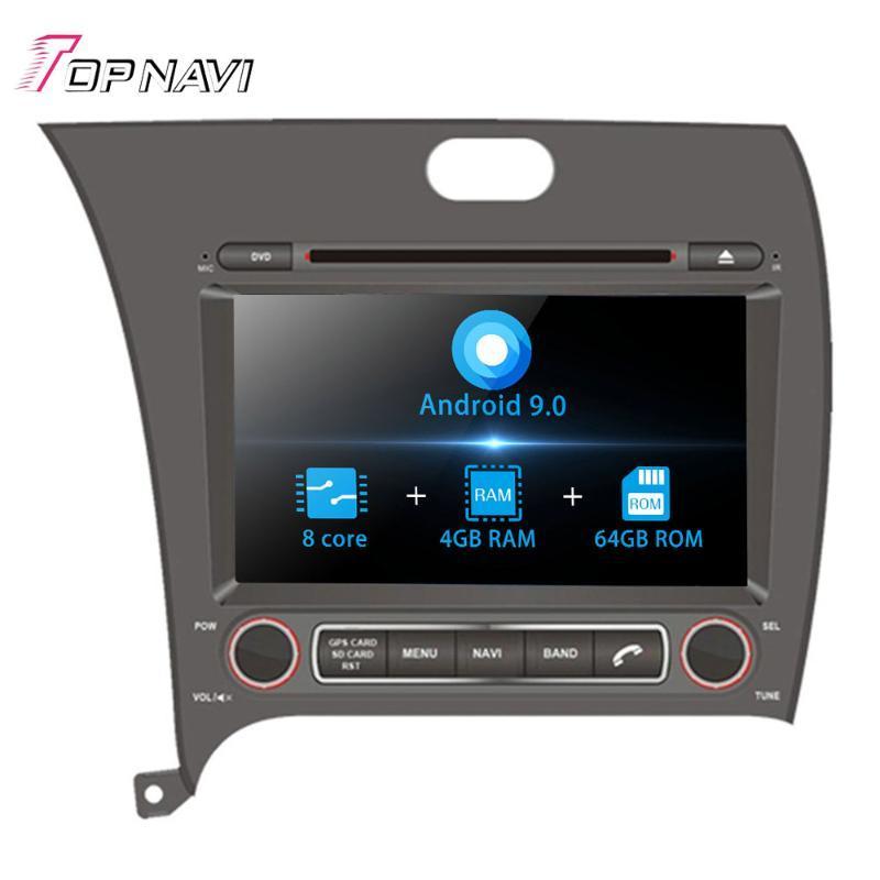 8'' Octa Core Android 9.0 Auto Car DVD Play For KIA CERATO//FORTE 2013 - Stereo Autoradio Car Radio GPS Navigation Audio 2Din