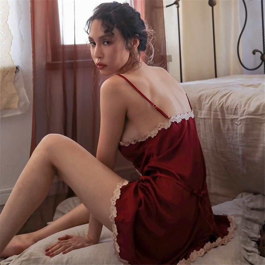 Womencotton Yaz Kayma Elbise Pantolon Küçük Daisy Pijama ve Pijama Home Suit 2020 Yeni # 457