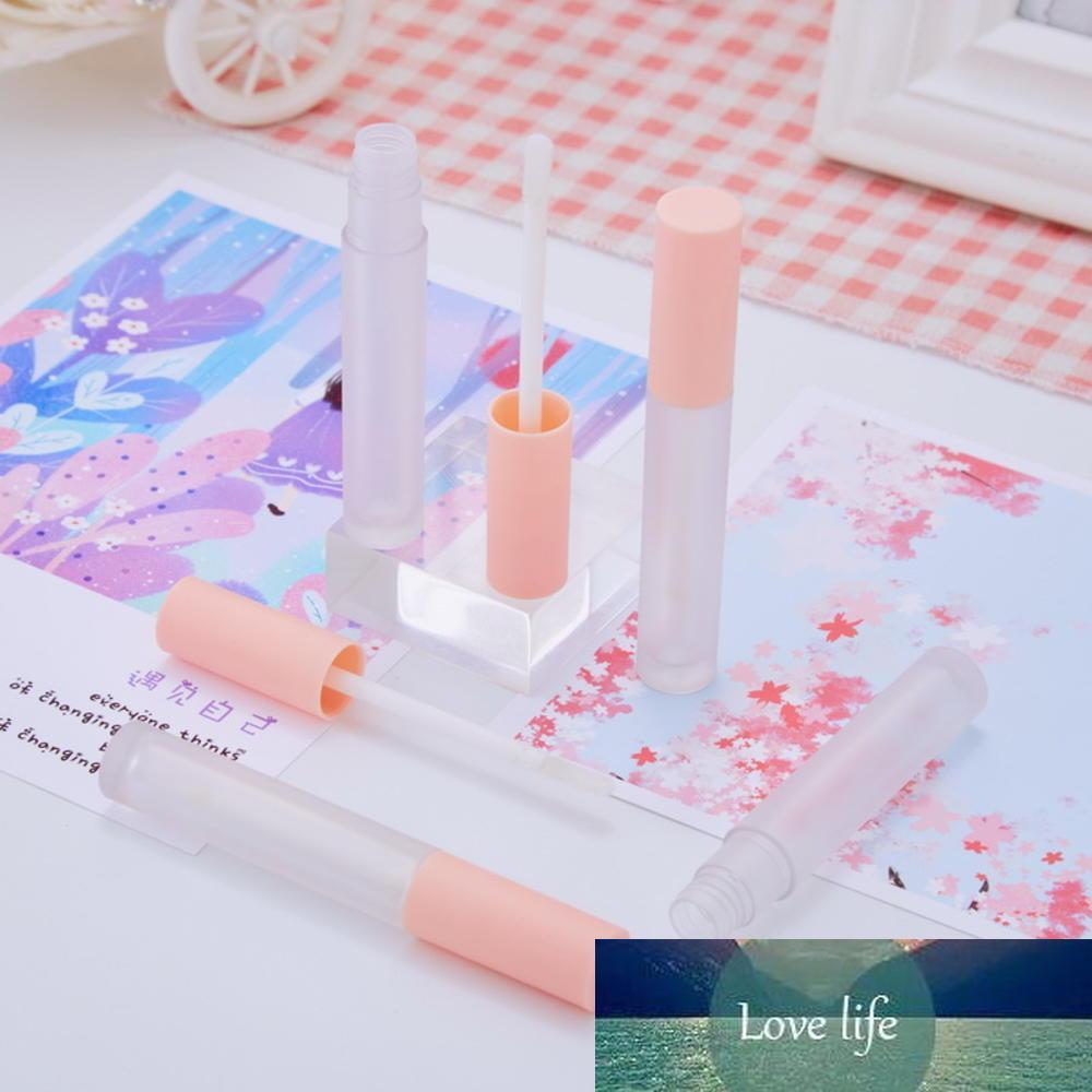 3ml mignon vide lèvre rose tube bricolage plastique rechargeable rechargeable givré