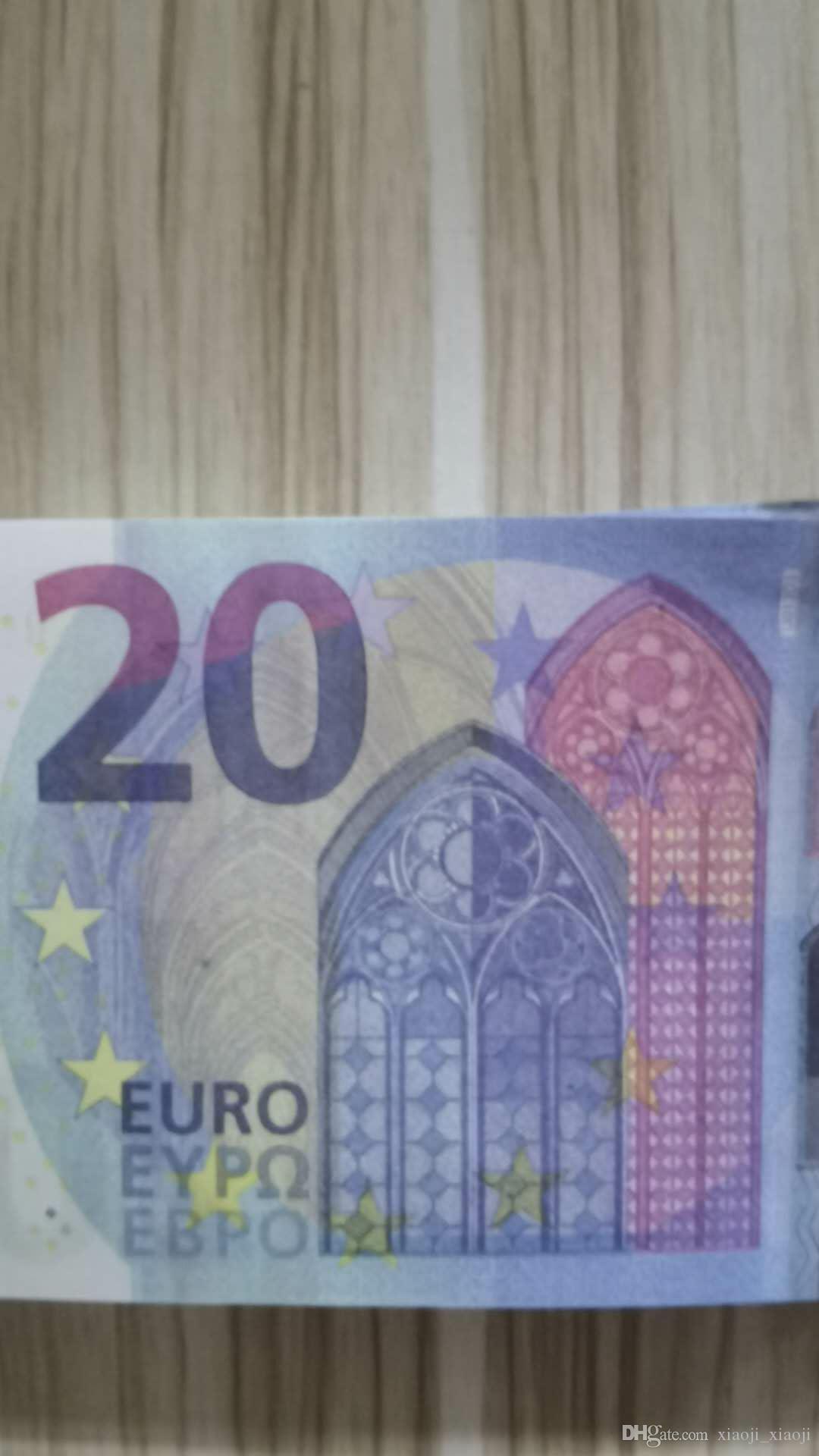 Banknote Bags Euro Fake Price Money Golds Gold 10/20/50 Got Paper Banknote / 100/200 / 500 евро Продажа предпринимательской банкноты копия 15 VIUQX