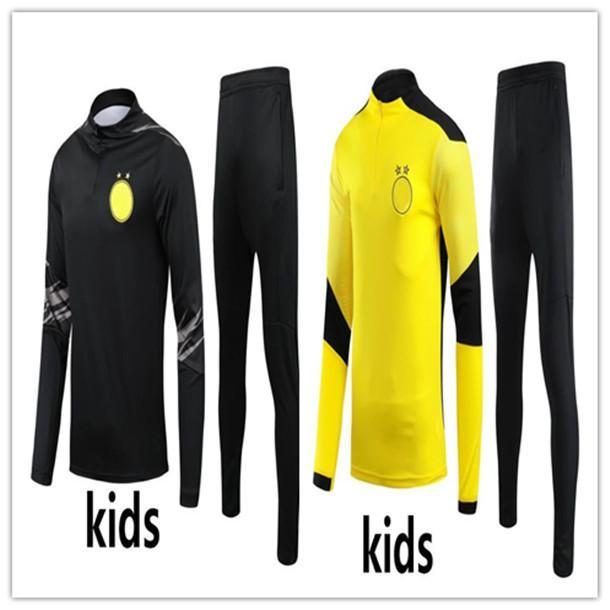 2020/21 Crianças Futebol Tracksuit Futebol Formação Terno Kids Futebol Tracksuit 2020 2021 Survego Foot Chandal Jogging Set
