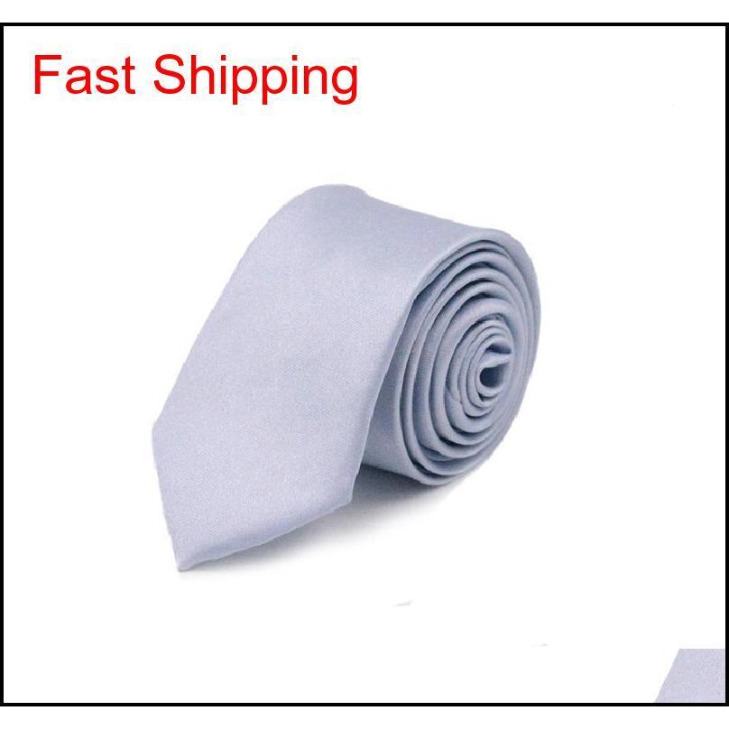 Ince dar siyah kravat erkekler için 5 cm rahat ok sıska kırmızı kravat moda adam aksesuarları sadelik için qyllgv homes2007