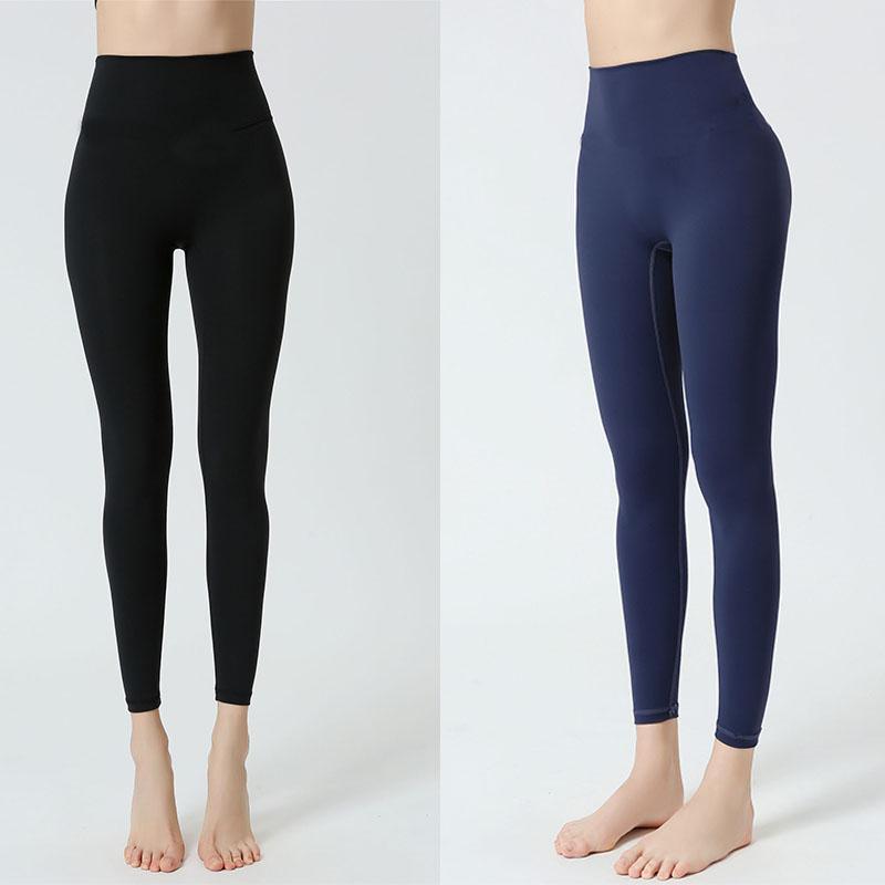 Kadınlar Fitness Yüksek Bel Zayıflama Yoga Pantolon kadın Dış Giyim Kış Sıkı Uygun Işık ve Ince Dikişsiz Yüksek Esneklik Sıkı S