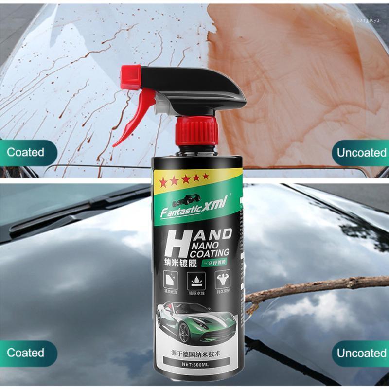 100/300/500 мл автомобильное керамическое покрытие с покрытием из стекло покрытием кристалл жидкое гидрофобное покрытие водонепроницаемого агента1