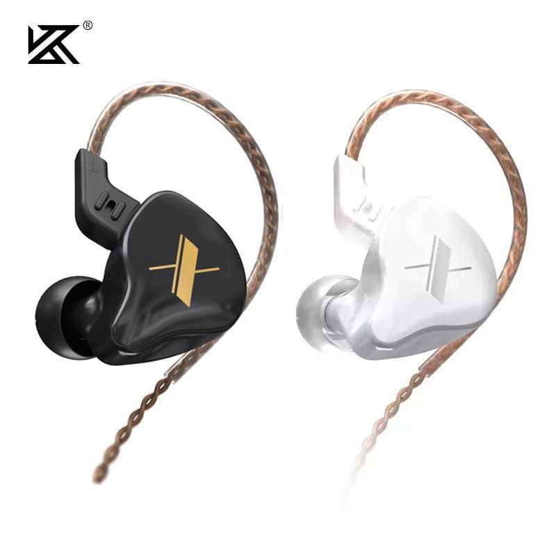 KZ EDX HIFI dans l'oreille Écouteur 3.5mm Jack Stéréo Bass Casque Écouteurs Sport Sport Bruit Casque d'annulation pour smartphones