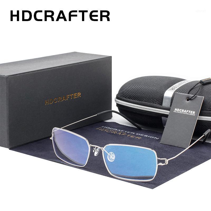 HDCrafter Ultralight Eyewear in lega di titanio Glasses Cornici da uomo Occhiali da vista Donne Myopia Iperopia Telaio ottico1