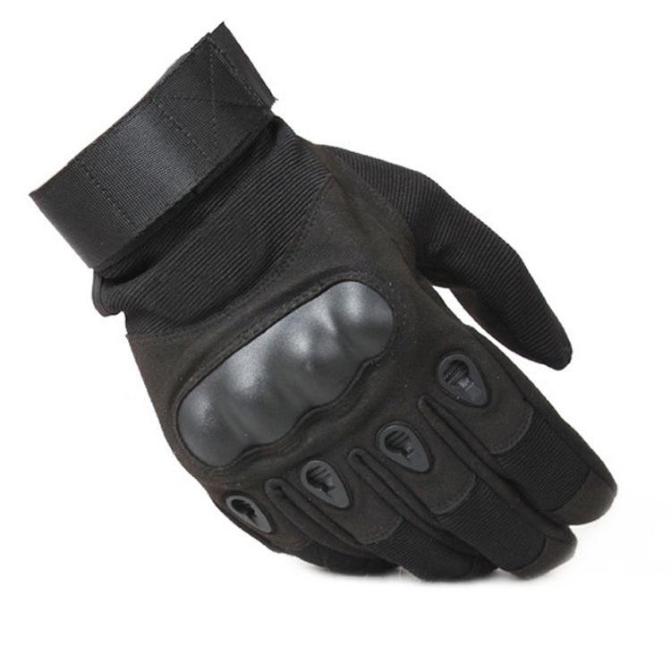 Luvas tático Army Paintball Airsoft Caça Tiro de equitação ao ar livre de Fitness Caminhadas Fingerles s / luvas de dedos completos