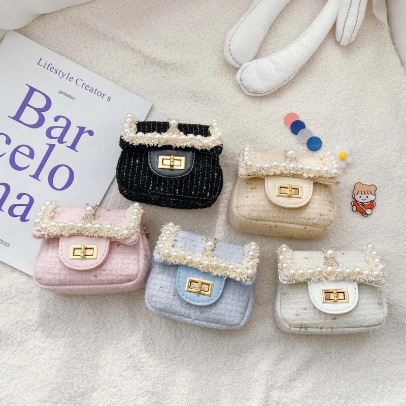 الكورية نمط الاطفال المحافظ لطيف الفتيات الأميرة رسول حقيبة صغيرة فتاة صغيرة عملة الحقيبة طفل المال القابض حقيبة هدية