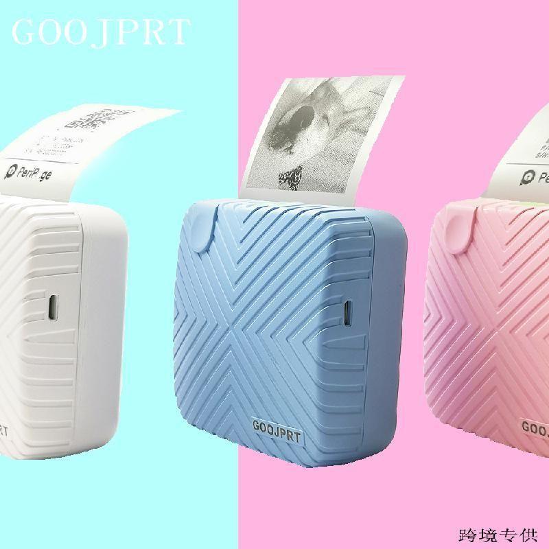 Portable Thermal Bluetooth принтер мини-фото Маленький этикетный принтер, 58 мм карманный принтер, штрих-код SD 203DPI термальная печать