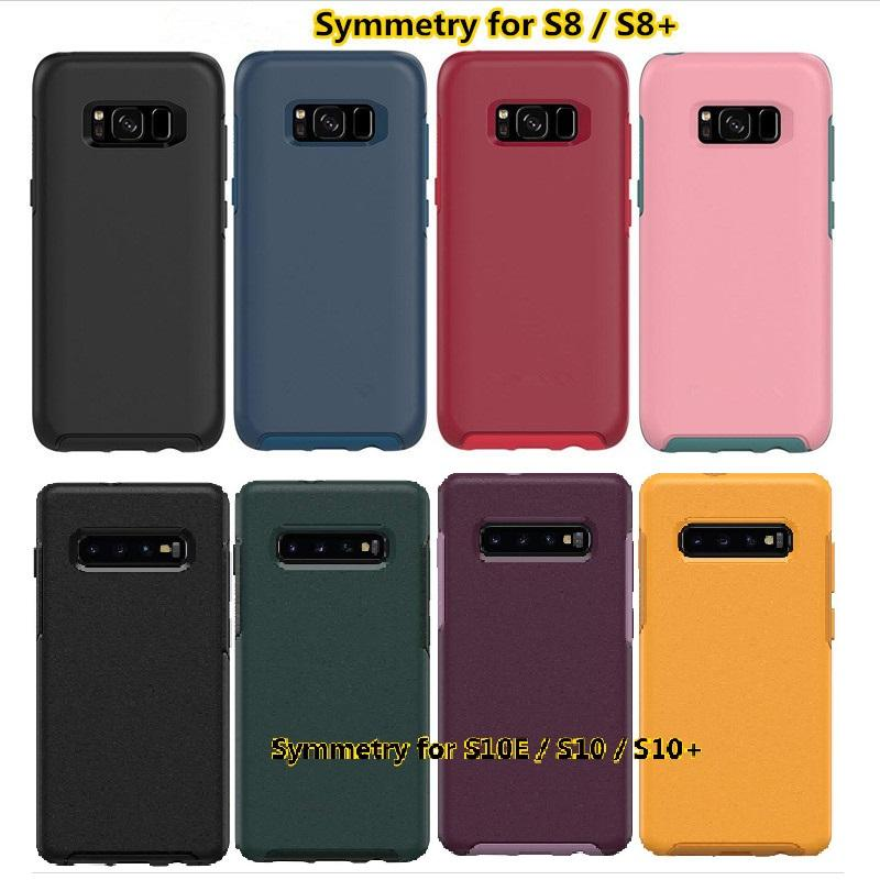 New Commuter caixa do telefone série para iPhone XR Xs Max 7 8plus para Samsung S8 S8 + s10 s10 Simetria série de casos de telefone celular