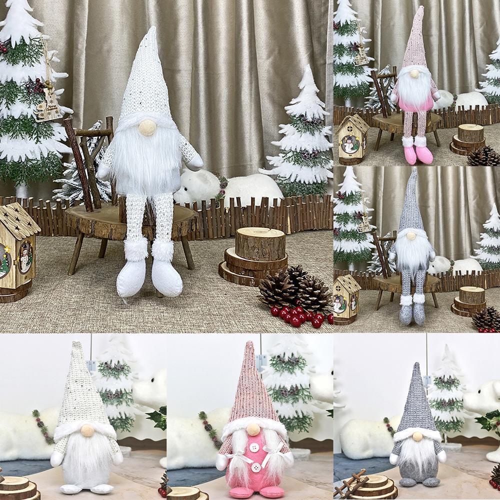 FRIGG Sankt Faceless Puppe 2020 Weihnachtsdekorationen für Haus Frohe Weihnachten Ornament Weihnachtsgeschenke Navidad Frohes Neues Jahr 2021