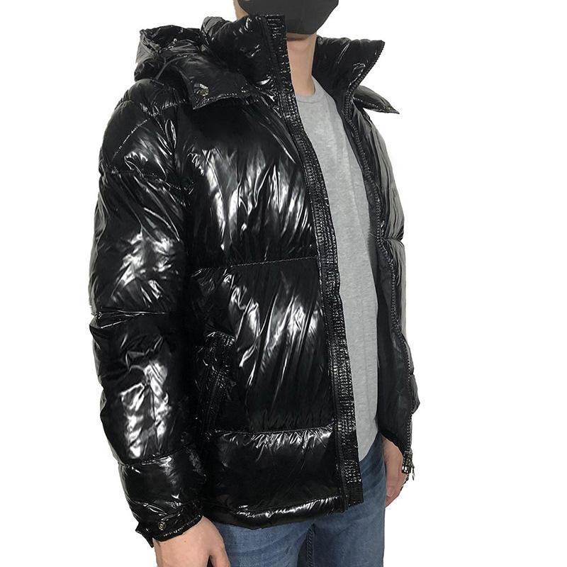 남성용 겨울 겨울 재킷 고품질 파카 남자에 대 한 검은 여자 다운 재킷 후드 코트 패션 따뜻한 오리 아래로 워킹 코트