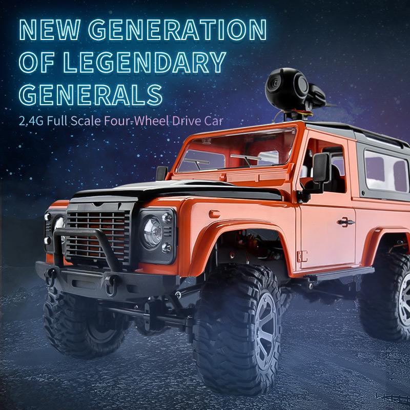 2.4g full scale remote control OFF-road vehicle electric four-wheel-drive children's high speed climbing boys and girls car toys