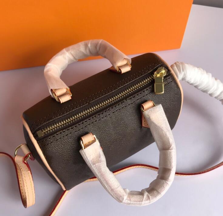 Brand Designer Quality Mini HH Pelle Lussurys Borse Borse Fashion XMBQ Donne Donne Borsellino Borsa Genui Borse High Handbags Viaggi ClutC TVBRL