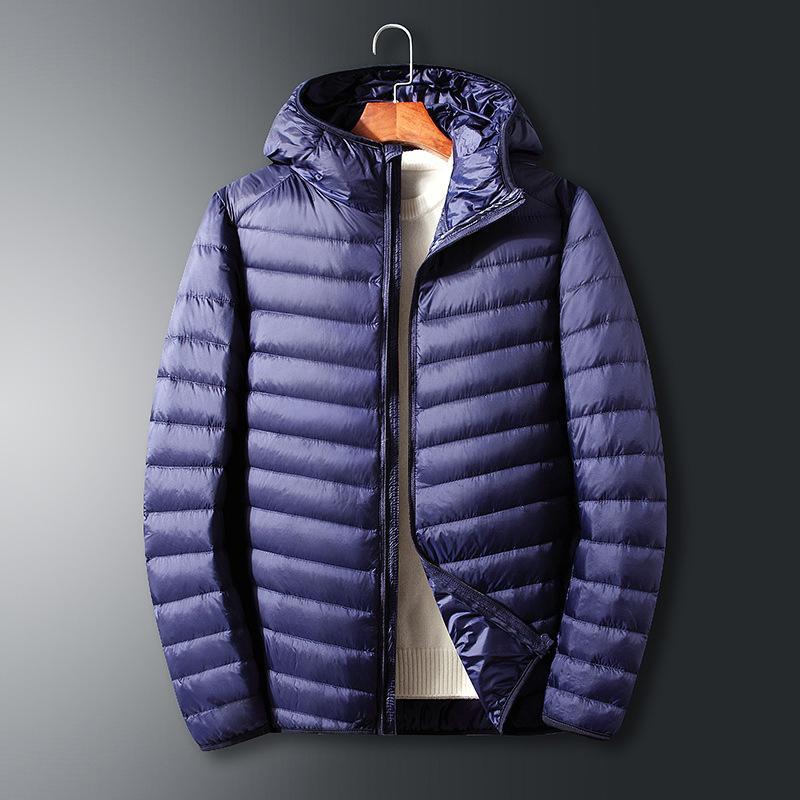 Automne et hiver 2020 Lumière pour hommes Nouveau veste de coton à capuche à capuche décontractée