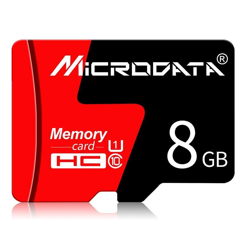 Microdata 8GB U1 красный и черный TF-карта памяти