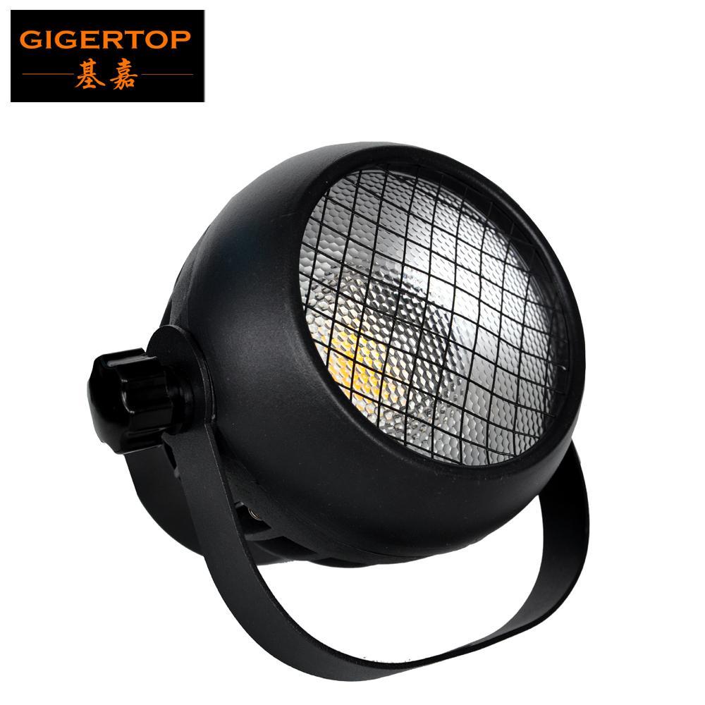 Gigertop 50W البسيطة LED كوليك الاسمية ضوء زجاج عدسة 60 درجة شعاع زاوية مروحة التبريد الصب الألومنيوم الإسكان tyanshine البوليفيين اللون الأبيض