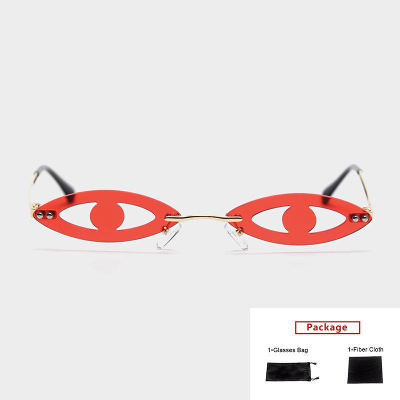 mimiyou occhio forma occhiali da sole rotondi donne partito divertenti uomini occhiali da sole moderni retrò occhiali moda marca UV400 occhiali da vista sfumature