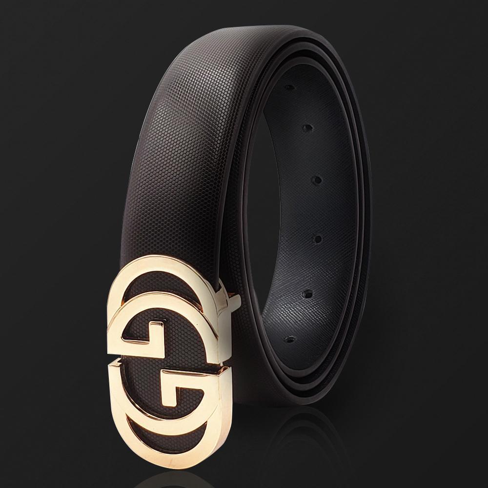 De haute qualité Véritable cuir véritable ceinture en cuir de mode Ceinture de luxe Ceinture de luxe pour hommes Femme Femme Scolle Boucle LJ200901